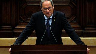 Katalonya Özerk Yönetimi Hükümeti Başkanı Torra: Bağımsızlık referandumu yapmak istiyoruz
