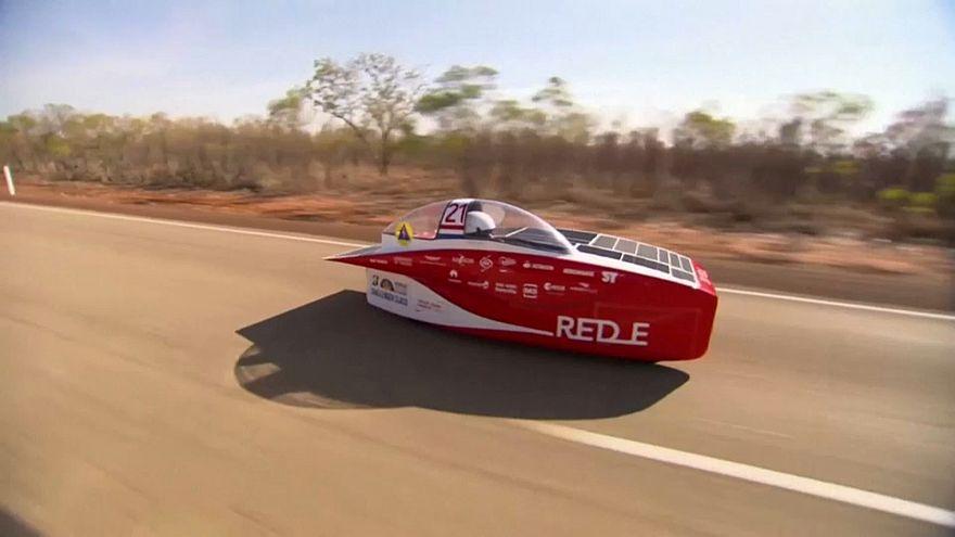 Belgian car wins Darwin-to-Adelaide solar race