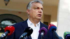 نماینده منتقد اوربان مانع سخنرانی نخستوزیر مجارستان در پارلمان شد