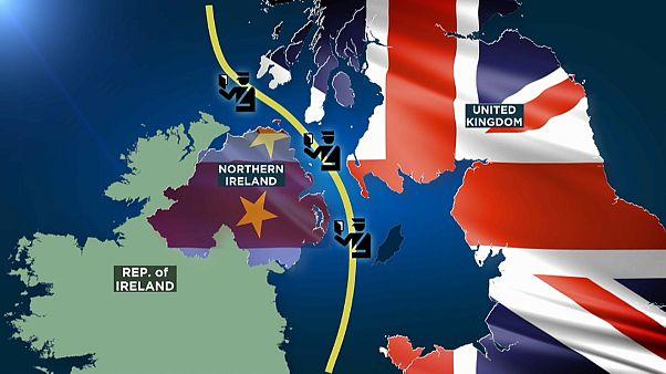 Mecanismo previsto no novo acordo para o Brexit prevê fronteira virtual no Mar da Irlanda