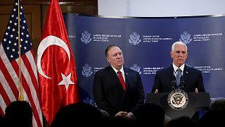 Turquía acuerda con EEUU un cese de su ofensiva en Siria