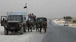 دخول القوات السورية إلى مدينة كوباني