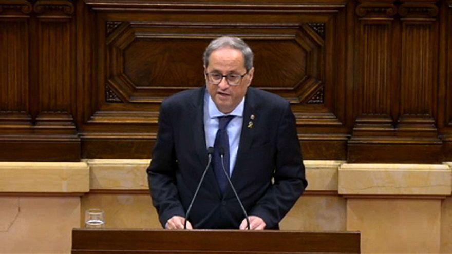 Új függetlenségi népszavazást sürget a katalán elnök