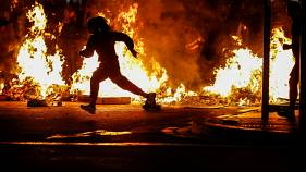 پنجمین شب اعتراضات در بارسلون؛ ال کلاسیکو به تعویق افتاد
