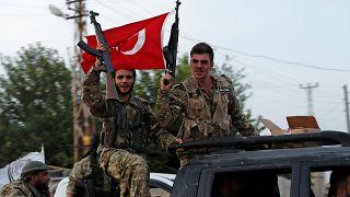 القوات الموالية لتركيا في سوريا