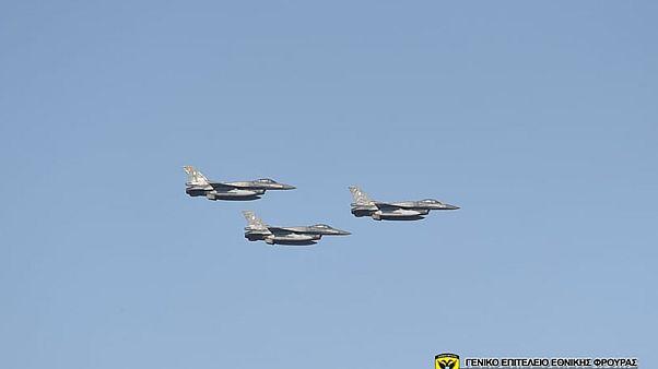 """Το ψευδοκράτος καταγγέλλει """"παραβίαση εναέριου χώρου"""" από ελληνικά F-16"""