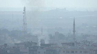 قصف تركي على مدينة رأس العين