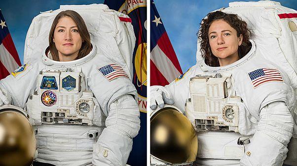 نخستین راهپیمایی فضایی با تیمی کاملا زنانه انجام شد