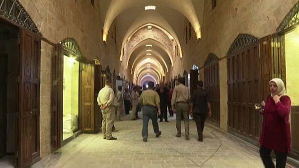 Αγορά αιώνων ανοίγει ξανά τις πύλες της στο Χαλέπι
