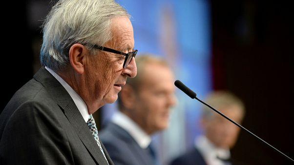 """Juncker: un """"errore storico"""" non allargare la UE a Albania e Macedonia del Nord"""