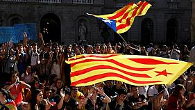 Watch: Catalonia holds general strike amid pro-separatist turmoil