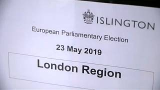 Britons go to polling stations across UK to vote in European elections