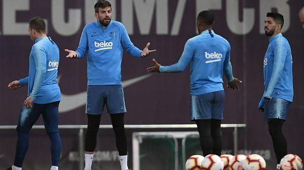 Barselona'daki şiddet olayları 'El Clasico'yu vurdu: Real Madrid maçı ertelendi
