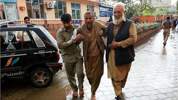 انفجار در ولایت ننگرهار افغانستان دستکم ۶۲ کشته بر جای گذاشت