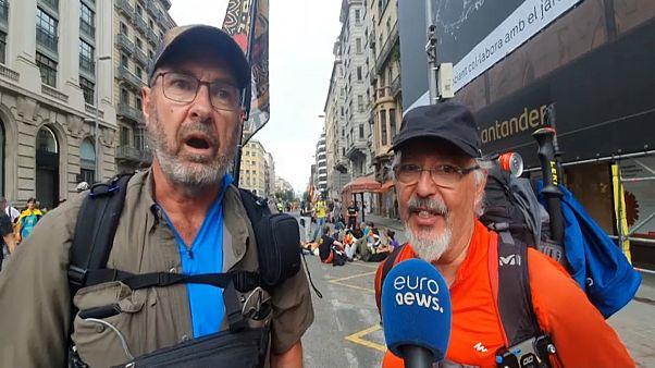 Reacciones a pie de calle al nuevo referéndum propuesto por Torra