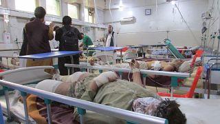 Afganistan'ın doğusundaki Nangarhar vilayetinde camiye cuma namazı sırasında düzenlenen bombalı saldırıda 63 kişi hayatını kaybetti.  ( Zabihullah Ghazi - Anadolu Ajansı )