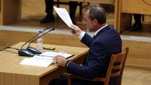 Ο πρώην βουλευτής της Χρυσής Αυγής Νίκος Μίχος απολογείται