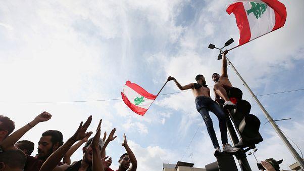 Lübnan'da protestolar