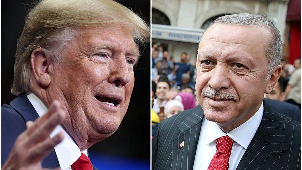 """Trump'tan Erdoğan'a cevap: """"Terörü yenelim"""""""