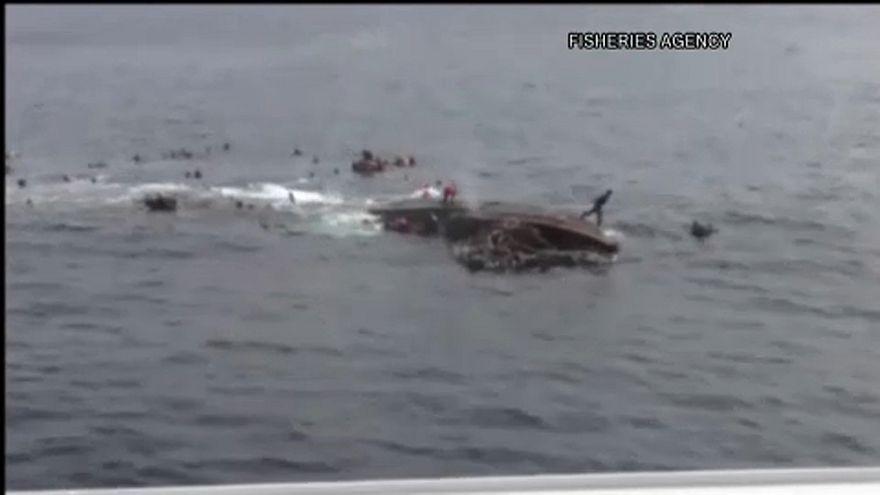 Kommentár nélkül: magát süllyesztette el az észak-koreai hajó