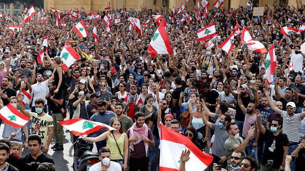 Demonstration im Libanon