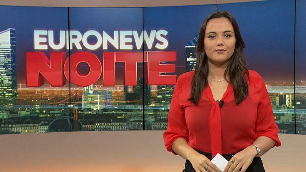 Euronews Noite   As notícias do Mundo de 18 de outubro de 2019