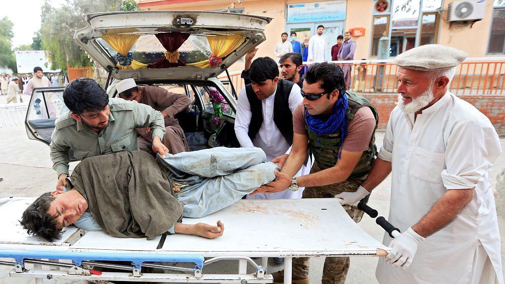 ارتفاع حصيلة عدد ضحايا تفجير مسجد شرق أفغانستان إلى 70 قتيلا   Euronews