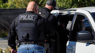 عنصران من شرطة الهجرة والجمارك الأميركية