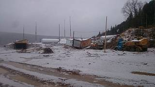 Rusya'nın Krasnoyarsk bölgesinde baraj çöktü