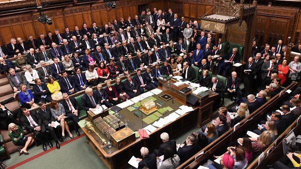 Image result for نمایندگان پارلمان بریتانیا رایگیری درباره توافق برکسیت را به تعویق انداختند