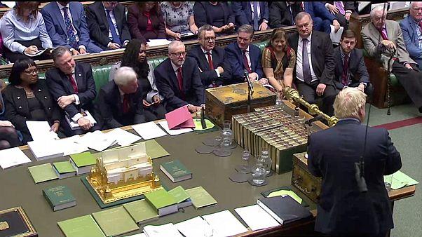Boris Johnson İngiliz Parlamentosu'nda Brexit anlaşması için destek arıyor