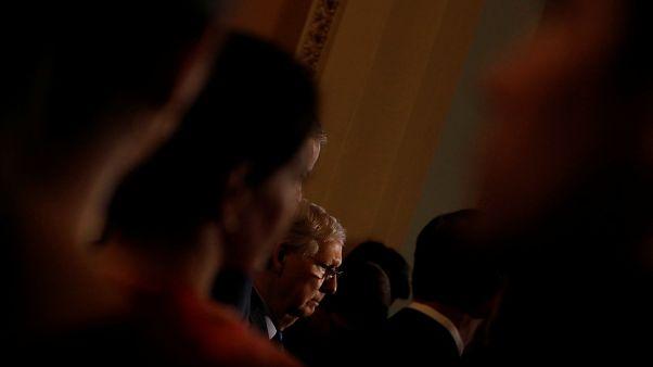 """زعيم الجمهوريين في مجلس الشيوخ يعتبر انسحاب القوات الأميركية من سوريا """"كارثة استراتيجية"""""""