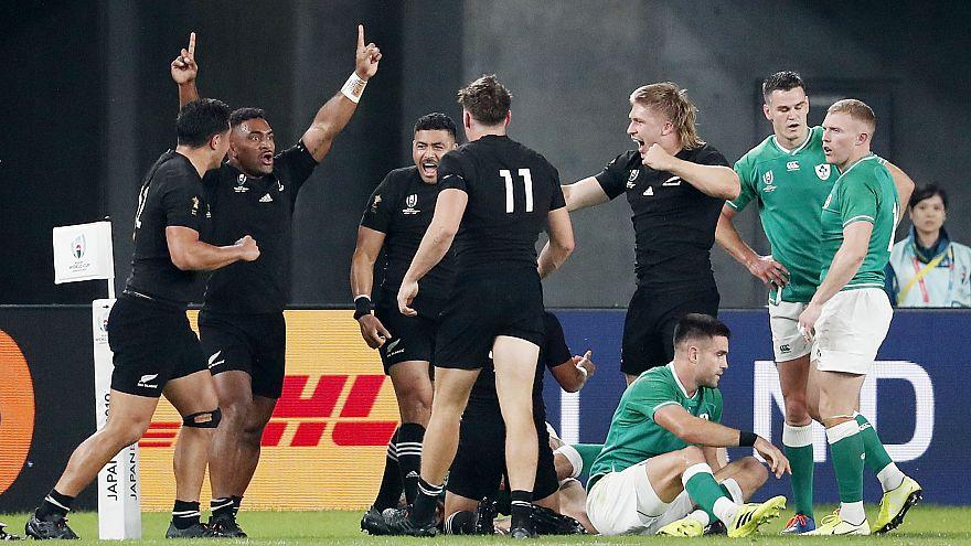 Inglaterra y Nueva Zelanda se medirán en las semifinales del Mundial de Rugby