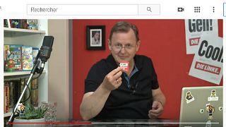 Eine Woche vor der Wahl: Bodo Ramelow (63) auch auf YouTube