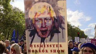 "Londra, manifestano i no-Brexit: ""Nuovo referendum"""