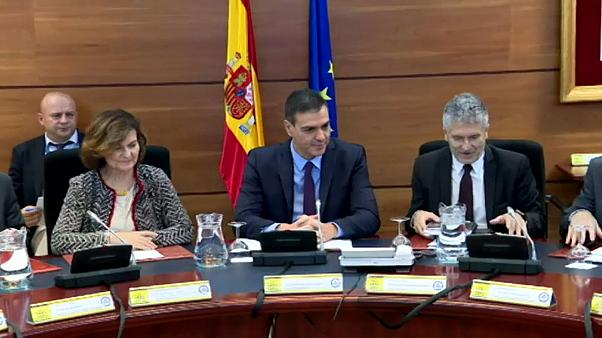 El Gobierno español ve un problema de 'estricto orden público' en Cataluña