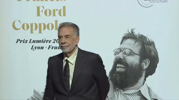 Francis Ford Coppola lights up Lyon's Lumiere Film Festival