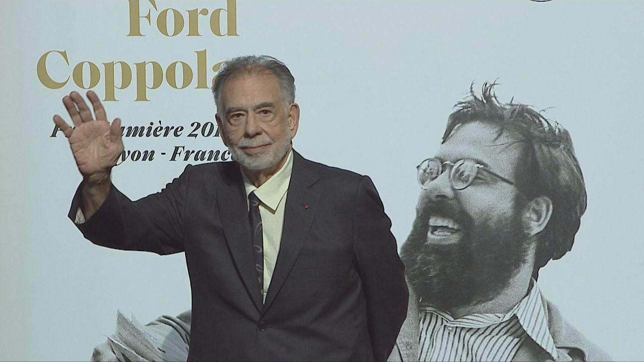 Francis Ford Coppola lors de la cérémonie de clôture du Festival Lumière 2019