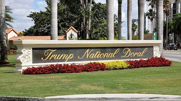 مجموعه گلف دونالد ترامپ در نزدیکی شهر میامی واقع در ایالت فلوریدا