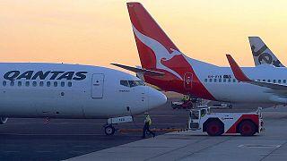 Qantas 19 saatlik rekor New York-Sidney uçuşunu tamamladı
