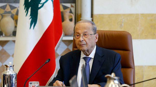 الرئيس اللبناني عون يأمل في إمكانية تشكيل حكومة جديدة في غضون أيام