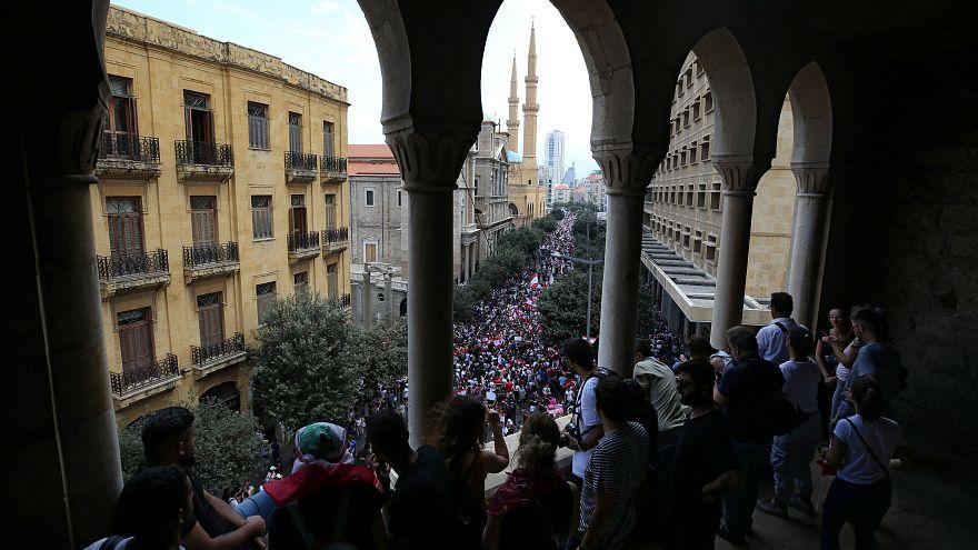 Nem csitul a tiltakozás Libanonban