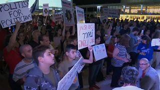 В Тель-Авиве прошла акция протеста против решения Химкинского суда