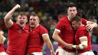 Rugby-WM: Wales ringt Frankreich nieder