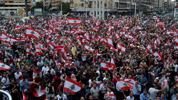 Image result for protest lebanon
