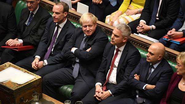 Johnson faces tough week in Parliament over Brexit deal