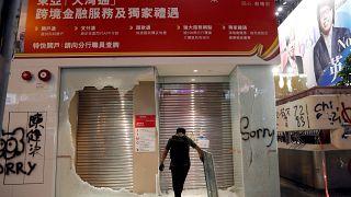 Водомёты Гонконга снова в деле