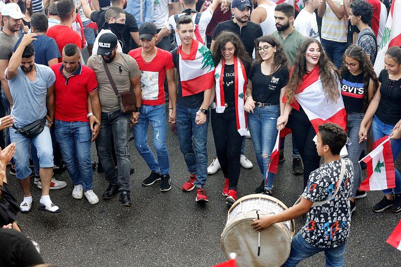 ادامه ی اعتراضات در لبنان