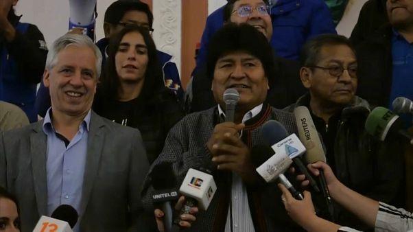 Bolívia: Primeiros resultados apontam para vitória de Evo Morales na primeira volta