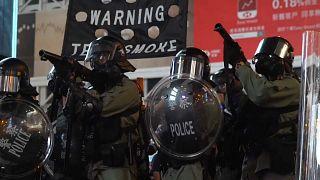Újra csatatérré változott Hongkong belvárosa